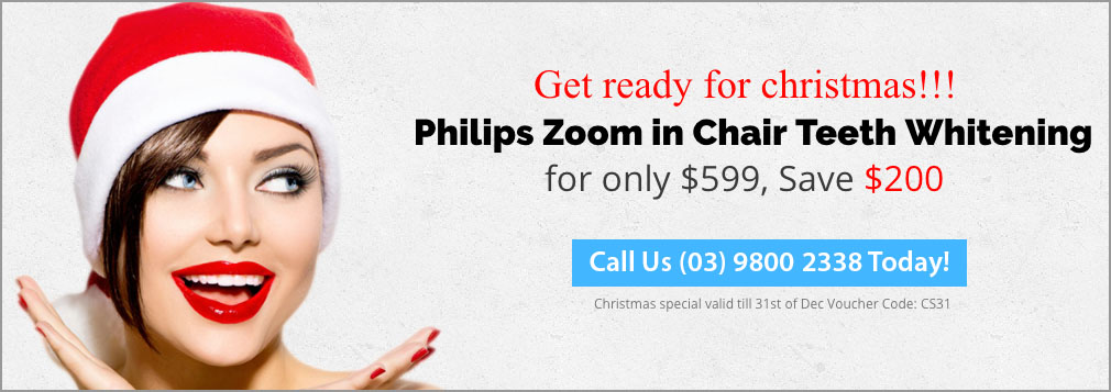 Philips Zoom in Chair Teeth Whitening | Dentist Wantirna South